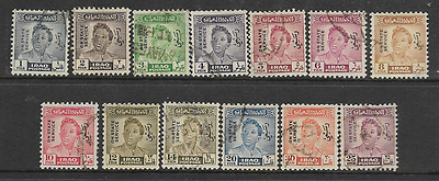 Iraq 1948 fine used stamps
