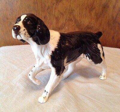 Royal Doulton Brown and White Dog Figurine, Wonderful Expression