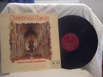 Christmas Carols from Exeter Cathedral LP