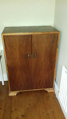1930's Tallboy/Mens Wardrobe shelves and hanging space