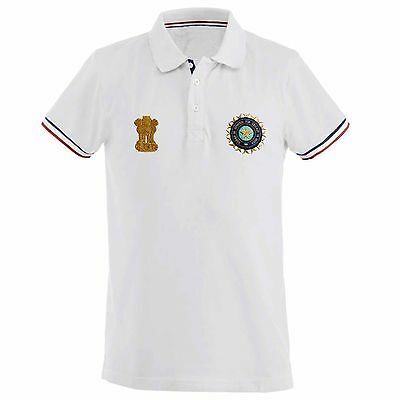 2017 India Cricket BCCI Polo Shirt for Leisure Wear