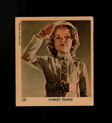 "Klene 1935 Superb Scarce ( Film Legend ) Type Card "" # 151 -- Shirley Temple """