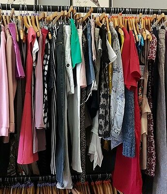 job lot of womans clothes 10 kg size 14  used