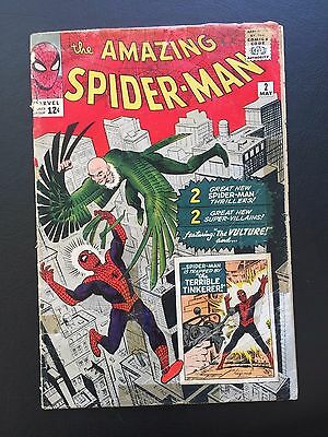 The Amazing Spider-Man #2 - 1st App of Vulture & Terrible Tinkerer Homecoming