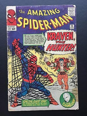 The Amazing Spider-Man #15 - 1st Appearance of Kraven The Hunter ASM