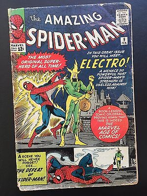 The Amazing Spider-Man #9 - 1st App of Electro! ASM Marvel