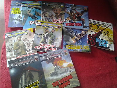 10 Commando picture library comics