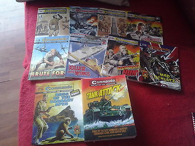 10 Commando picture comics