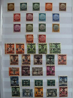 STAMPS: POLAND, 1939-1940 General Government, See scans