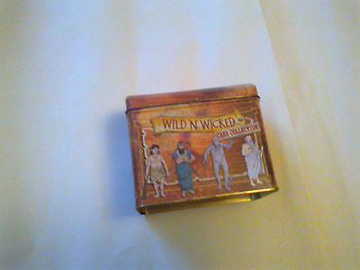 HORRIBLE HISTORIES TRADING CARDS TIN ( empty )