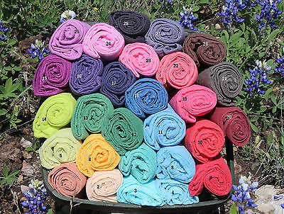 5 Colors 36x36 Cheesecloth Wraps for Newborn Photography Prop Grade 60 Hand Dyed