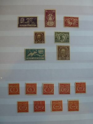 STAMPS: POLAND, Parliament & Postage Due, Mint, See scans