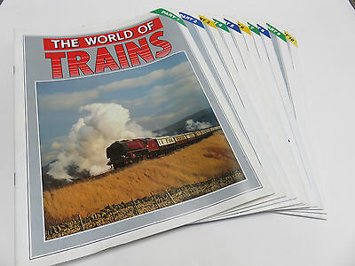 World of Trains magazine issues 1-10