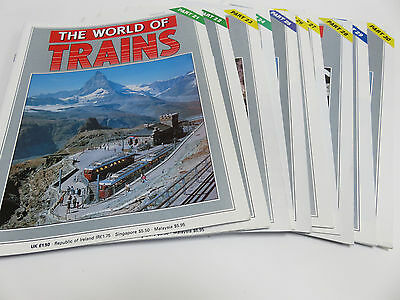 World of Trains magazine issues 21-30