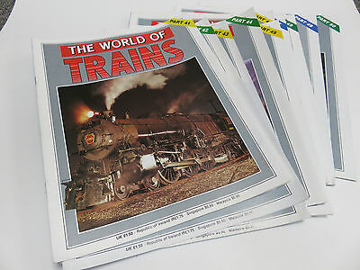 World of Trains magazine issues 41-50