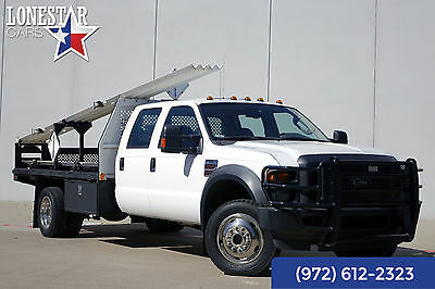 2008 Ford F-550 XL Reading Bed 4x4 Crew Cab 2008 White XL Reading Bed 4x4 Crew Cab!