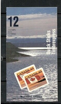 Canada Mint Booklet #153 ( #1359a) Flag Over Field
