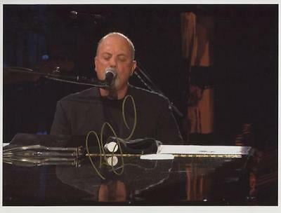 Billy Joel Signed 8 x 10 Photo Genuine In Person