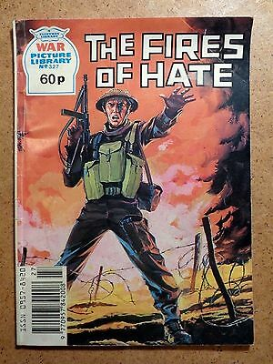 War Picture Library Comic No.327 The Fires of Hate 1990s Vintage Fleetway Battle