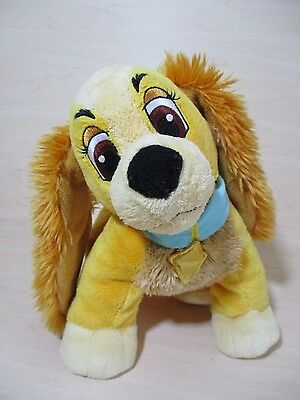 Rare Vintage Disney Exclusive - Lady Character Soft Toy - Lady And The Tramp