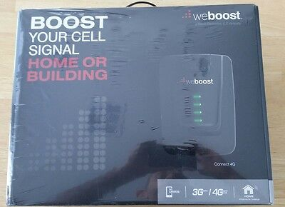 NISB WeBoost Wilson Connect 4G LTE Home Cell Phone Signal Booster Kit 470103