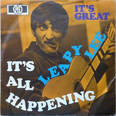 "7"" Leapy Lee - It's All Happening - DE 1968 - NM"