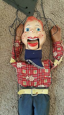 """Vintage HOWDY DOODY Marionette, Puppet Doll, 15"""""""