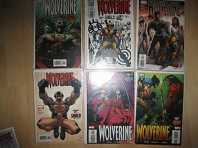 Wolverine 26-31 Millar Romita Jr Agent Of Shield