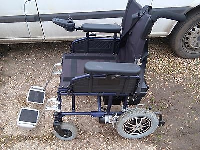 Pride folding electric wheel chair with new batteries