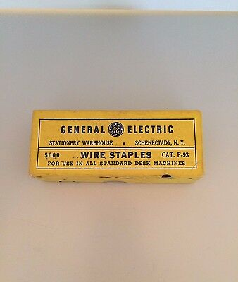 Vintage General Electric Staples