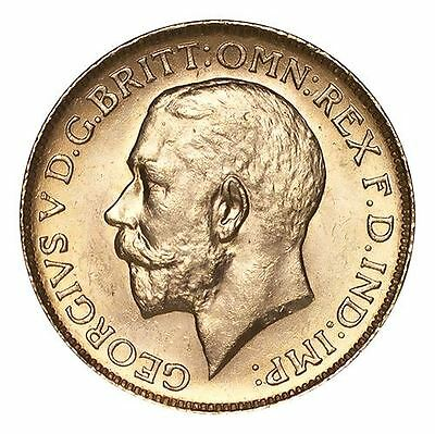 Canada George V Gold Coin 1911-C Gold Sovereign
