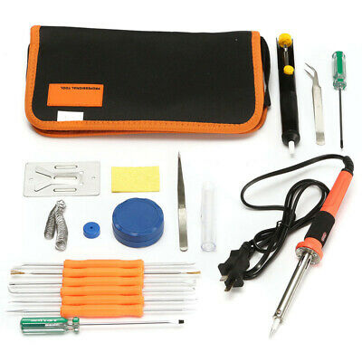 [NEW] Precision 15 in 1 220V 30W Electric Welding Soldering Iron Tools Kit Set