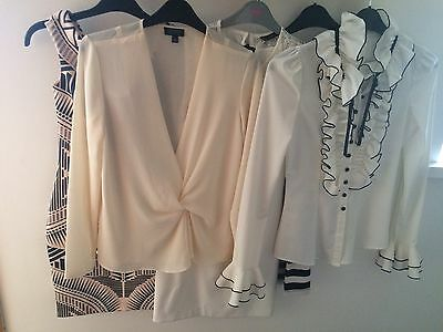 H&M/zara/ Miss Selfridge / Top Shop Bundle Dress/ Blouse Size 6/8