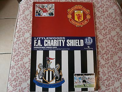 Man Utd v Newcastle Utd,1996 Charity shield.