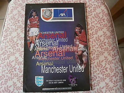 Arsenal v Man Utd 1998 FA charity shield.
