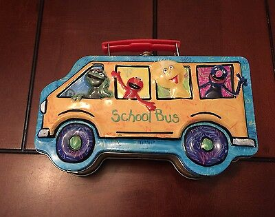 Vintage Seasame Street Little Lunch Box Rare