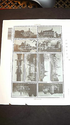 Belgium Stamps Tourism mini sheets 10 mint unused stamps each 0.42