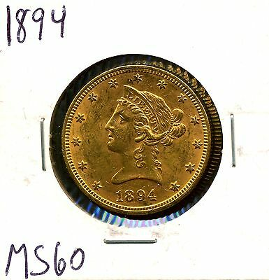 1894 G$10 Liberty Head Gold Eagle in Uncirculated Condition