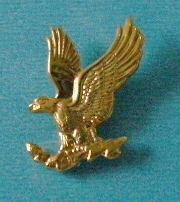 Gold Eagle hat or lapel pin or tie tack