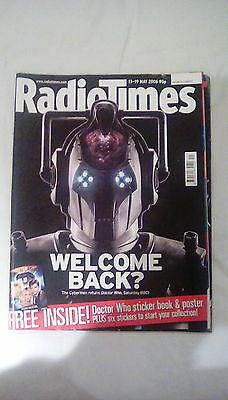 Doctor Who Radio Times 2006 Cyberman cover
