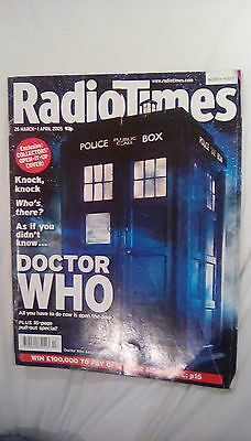 Doctor Who Radio Times 2005 Collectors Cover