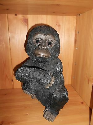 Country Artists Natural World Baby GORILLA Figurine    14284 NEW