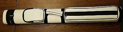 Action Brand AC22 2x2 Pool/Billiard Hard Cue Case White. CHEAPEST ONE ON eBay