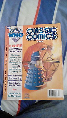 Doctor Who Classic Comics Issue 6