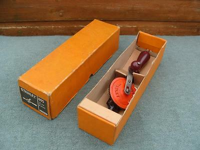 Stanley hand drill, No 805, in box, VGC