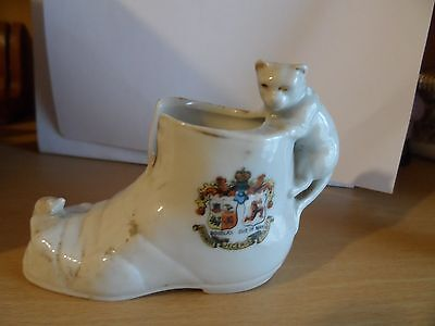 crested china douglas isle of man white cat chasing mouse old boot iom