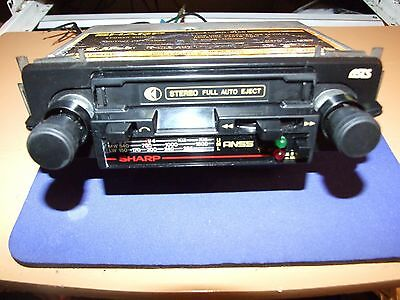 Sharps Radio Cassette In Good Working Order Ideal For Classic Car