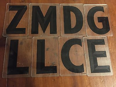 "109 Pieces Zip-Change Changeable Outdoor Sign 6"" Letters, Symbols, numbers,"
