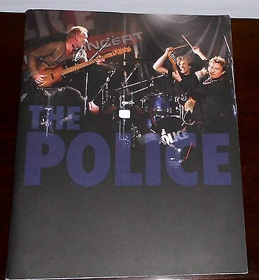 The Police : Large Format Full Colour Concert Programme : Date Unknown
