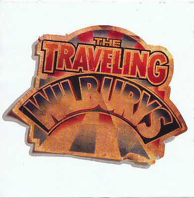 The Traveling Wilburys Band Logo RARE promo shaped sticker '16